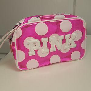 Victoria's Secret PINK Make Up Tote NWT